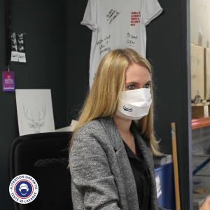 Masque tissu personnalisable et lavable Europe