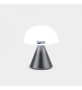 Lampe personnalisée design Mina Lexon gris métallique