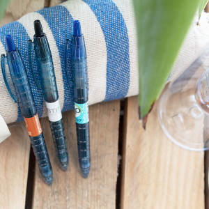 Stylo publicitaire B2P Pilot encre gel made in France