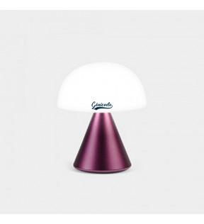 Lampe personnalisée design Mina Lexon prune sombre