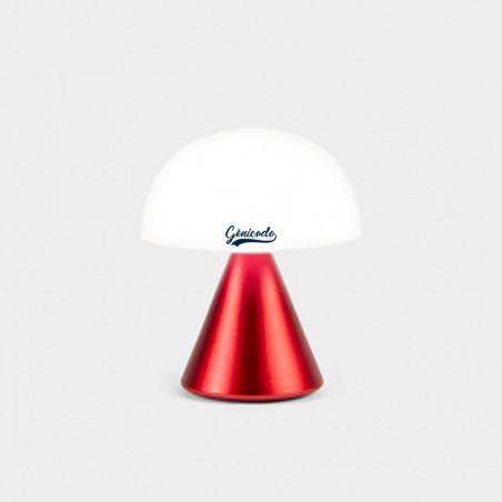 Lampe personnalisée design Mina Lexon rouge