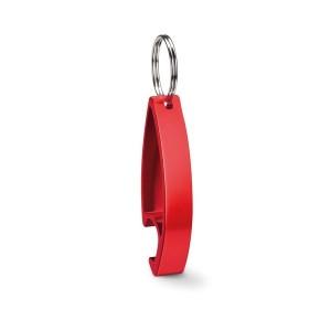 Décapsuleur porte-clés personnalisable brillant