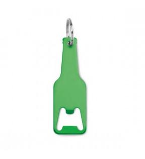 Porte-clé décapsuleur personnalisé en forme de bouteille