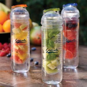 Bouteille infuseur personnalisée à fruits 500 ml