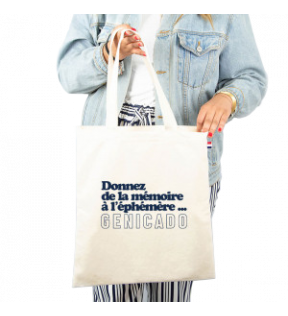 Tote bag coton made in France personnalisable