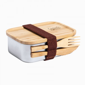 lunch box personnalisée & couverts