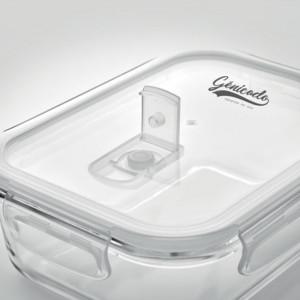 Lunch box personnalisable en verre borosilicaté