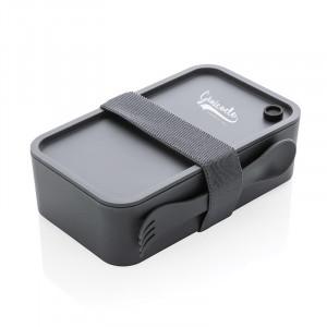 Lunch box personnalisable en PP avec cuillère