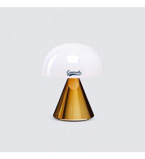 Lampe personnalisée design Mina Lexon or métallique