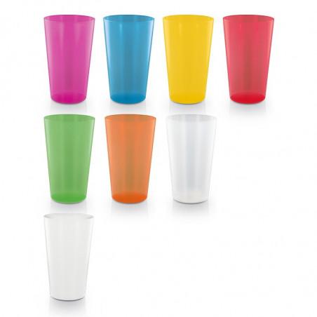 Gobelet plastique personnalisé 1 à 4 couleurs 60cl made in France