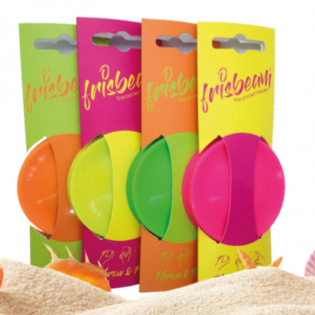 Frisbeam : frisbee Made in France publicitaire