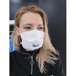 masque tissu lavable personnalisé coronavirus