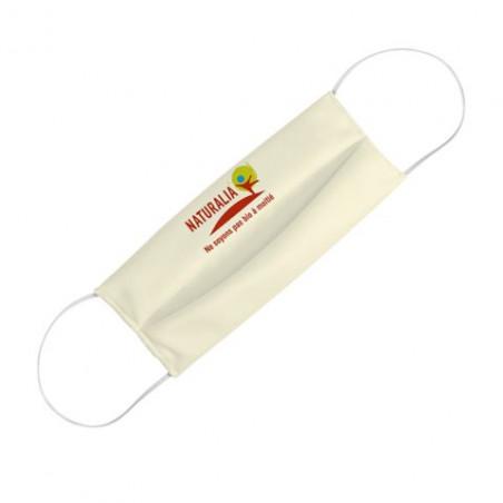Masque personnalisable tissu recyclé RPET