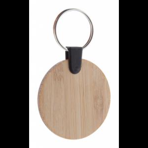 porte-clés en bambou rond