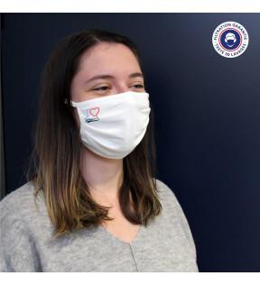 Masque tissu réutilisable