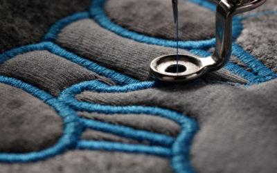 La broderie: personnalisation textile par excellence